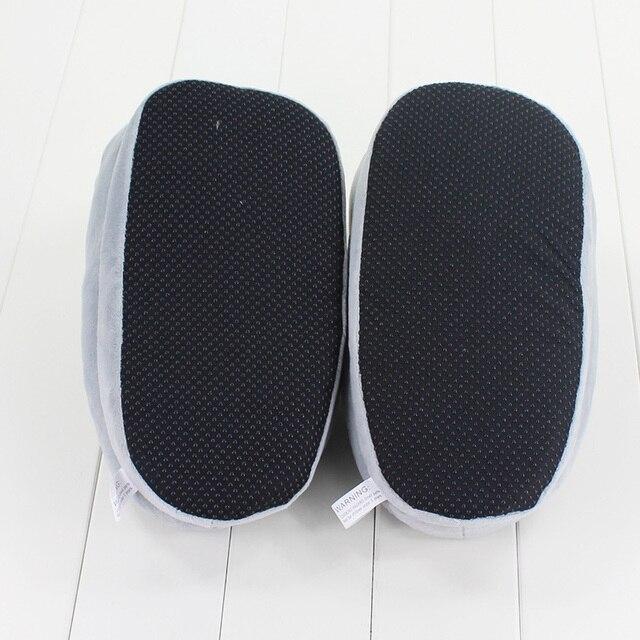 Тапочки в виде Тоторо мягкие 27 см 3