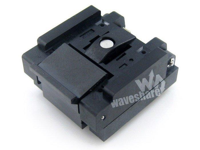 Parts QFN20 MLP20 MLF20 QFN-20BT-0.5-01 QFN Enplas IC Test Socket Adapter 0.5mm Pitch Free Shipping import adapter test seat mlp20 burning qfn20 dip20
