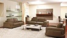 8265# salón sofás de cuero alta calidad sofá de cuero moderno sofá de la sala de estar muebles para el hogar muebles