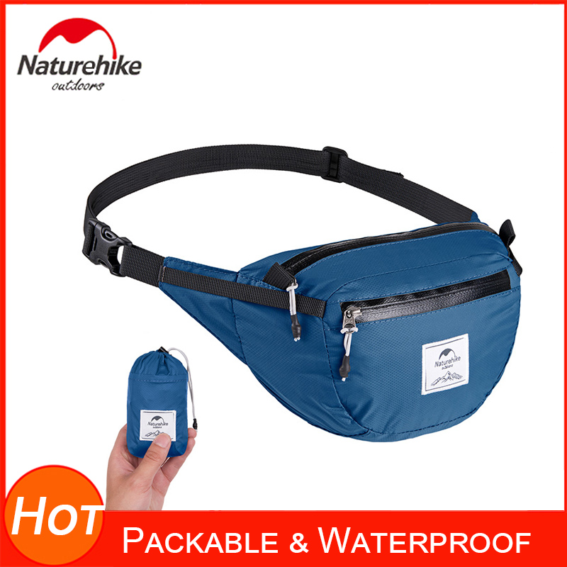 Packable Waist Pack Waterproof Folding Fanny Pack For Men&Women Hip Bum Bag With Adjustable Strap Workout Running Hiking Cycling