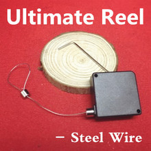 Ultimate Reel-Steel Wire C Magic Accessories Magician Stage Tricks Gimmick Illusions Magia Toys Classic High Quality Joke