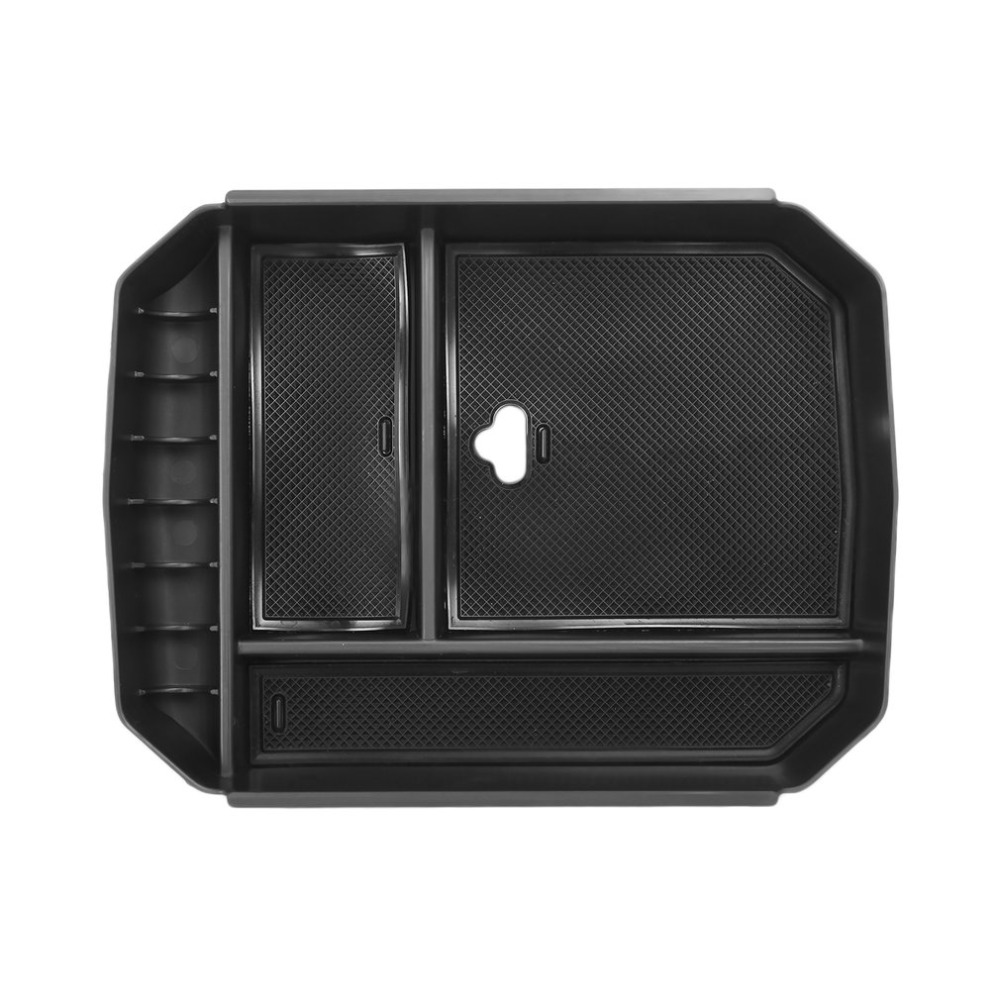 New Practical Central Storage Pallet Armrest Container Box Car Interior Styling Tray Suitable for Toyota Highlander 2015-2017