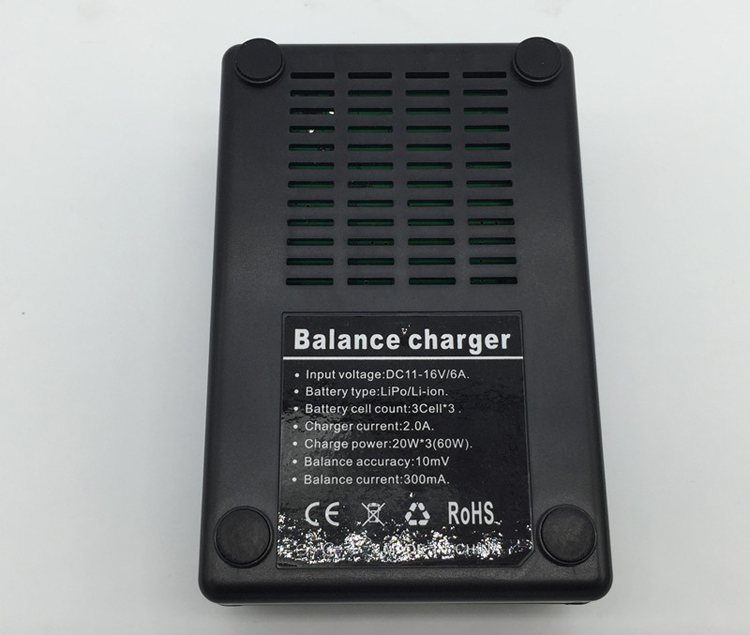 Q500 4K Series Battery Charger 3 In 1 Fast Charging Balance Parallel Charger Plate for YUNEEC Q500+ RC Drone Quadcopter Parts