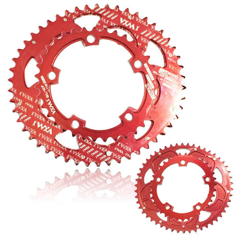 Bike Narrow Wide Oval Chainring Ring BCD 110mm 35T 50T Single Chainwheels