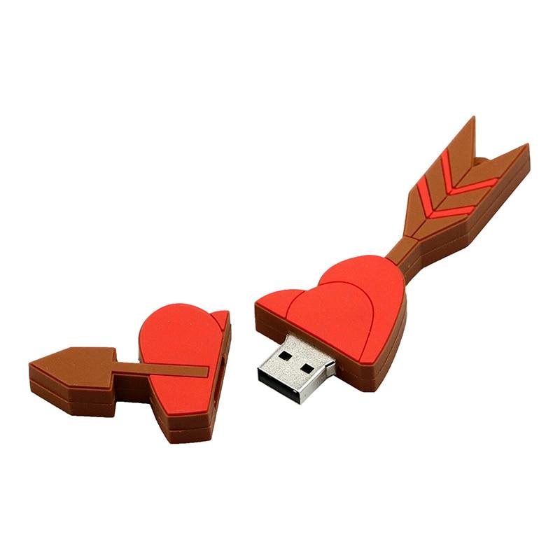 Best Gift 128 GB Pendrive 8 GB USB Flash Drive 16 GB Cartoon Cupido - Externe opslag - Foto 3