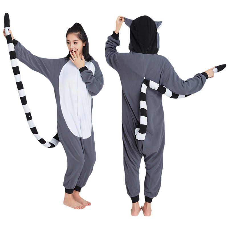 Унисекс с капюшоном для взрослых домашняя одежда зимние теплые флисовые комбинезоны  комбинезон пижамы животных косплэй кигуруми bc737ec495102