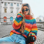 Retro Rainbow Stripe...