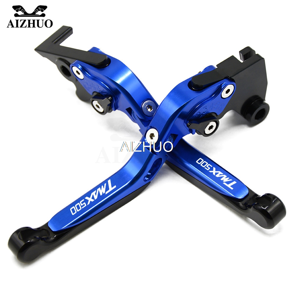 Motorcycle Brake Clutch Lever Folding Extendable For <font><b>YAMAHA</b></font> TMAX500 <font><b>TMAX</b></font> 500 <font><b>2001</b></font> 2002 2003 2004 2005 2006 2007 With <font><b>TMAX</b></font> image