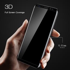 Image 4 - Suntaiho 3D kavisli yuvarlak yumuşak PET ekran koruyucu film Samsung Galaxy S8 S8 + Not 8 (temperli cam) koruyucu film