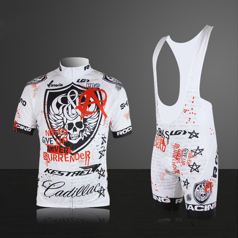 Pro Cycling Jersey Skeleton Breathable Summer Short Sleeves Mans Cycle Clothes Wear Ropa Ciclismo Sportswear-in Cycling Sets from Sports & Entertainment    1