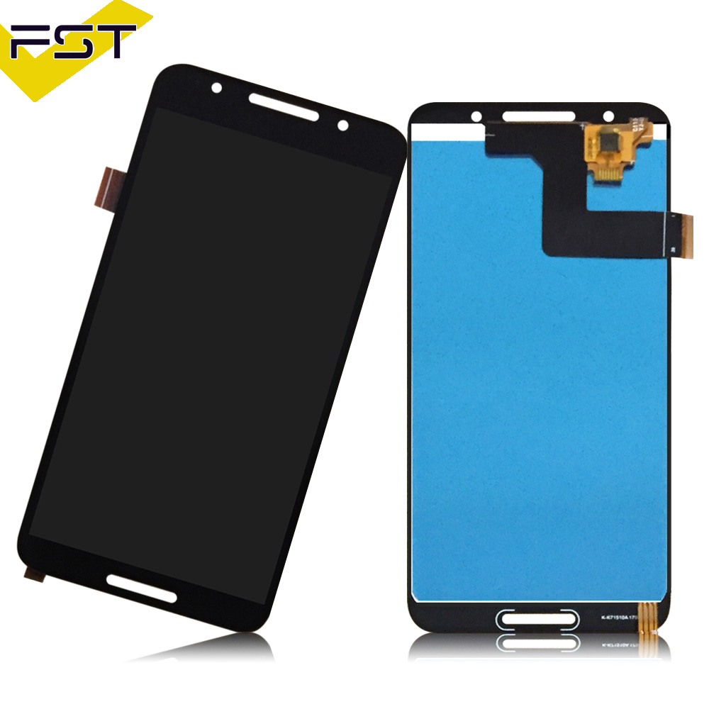 MDYHMC JSKL AYSMG LCD Screen and Digitizer Full Assembly for Alcatel A3 Plus 5011 OT5011 OT5011A Black Color : Black