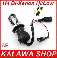 Только одна пара лампа H4-3 H/L Привет/Low один ксенон перемещения лампы HID ксеноновая лампа 35 Вт (би-ксеноновая лампа) AE доставка AAA