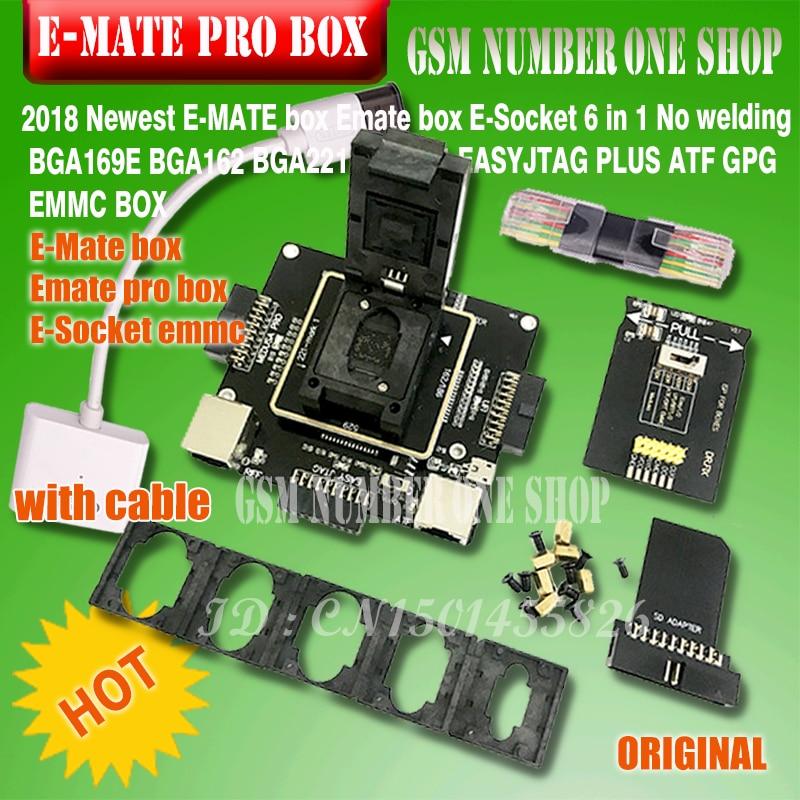 E-MATE box Emate box E-Socket 6 en 1 Sin soldadura BGA169E BGA162 - Equipos de comunicación - foto 1