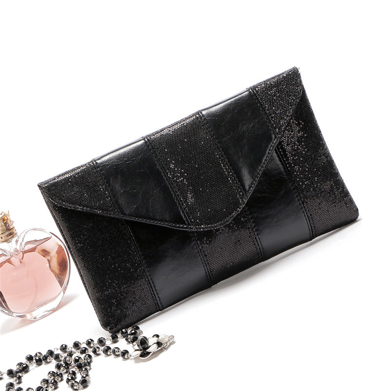 Fashion Women Ladies Evening Party Sequins Clutch Envelope Bag  lively fashion black bag as perfect gift for elegant ladies A10 lole капри lsw0923 lively capri m evening blue