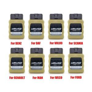 Image 2 - Mới Nhất OBD2 Xe Tải Adblue Giả Lập Cho IVECO Cho Volvo Cho Renault Adblue/DEF Nox Cắm & Ổ AdblueOBD2 Xe Tải chẩn Đoán