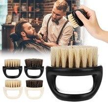 Set di pettine per barba in setola di cinghiale speciale per uomo nuovo Set di pettine per barba in plastica Set per la cura della barba pettine per barba spazzole per utensili vendita calda