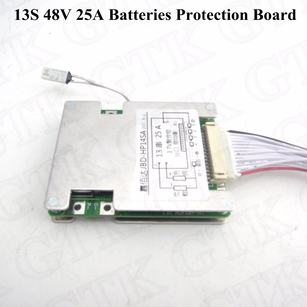 High Quality Bms 27s 96v Lithuim Li Ion Polymer Battery Packs 200a Wh18650a 4a Protective Circuit Board For 18650 Rechargeable Liion 48v 25a Batterie 13s Smart Cell