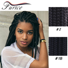 Box Braids Hair Products Single Synthetic Braiding Hair Extensions Beauty African Americans Styles Ombre Crochet Twist