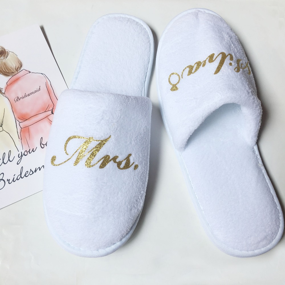 White Red Personalized glitter wedding birthday hen night party favors bride bridesmaid maid of honor spa slippersWhite Red Personalized glitter wedding birthday hen night party favors bride bridesmaid maid of honor spa slippers