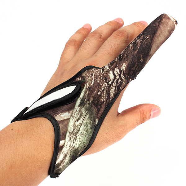 Casting Glove Finger Stall Protector Sea Fly Carp Fishing Camouflage, 3COLOR