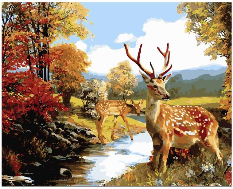Natureza pinturas acrílicas vender por atacado   natureza ...
