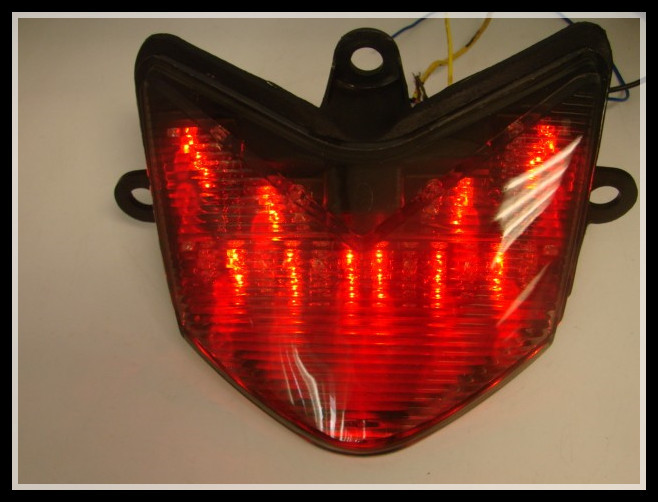 Smoke Tail Light+Signal For 2004-2005 Kawasaki Ninja ZX10R ZX10 Integrated 04 05