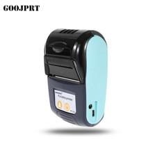 Горячие продажи мобильный мини портативный термопринтер принтер ручной POS Принтеры Bluetooth 4,0 для android iOS двойная система
