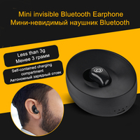 With 500mAh Charging Box S600 Ultra Mini Wireless Bluetooth Headsets V4 1 EDR Universal Sports Earphone