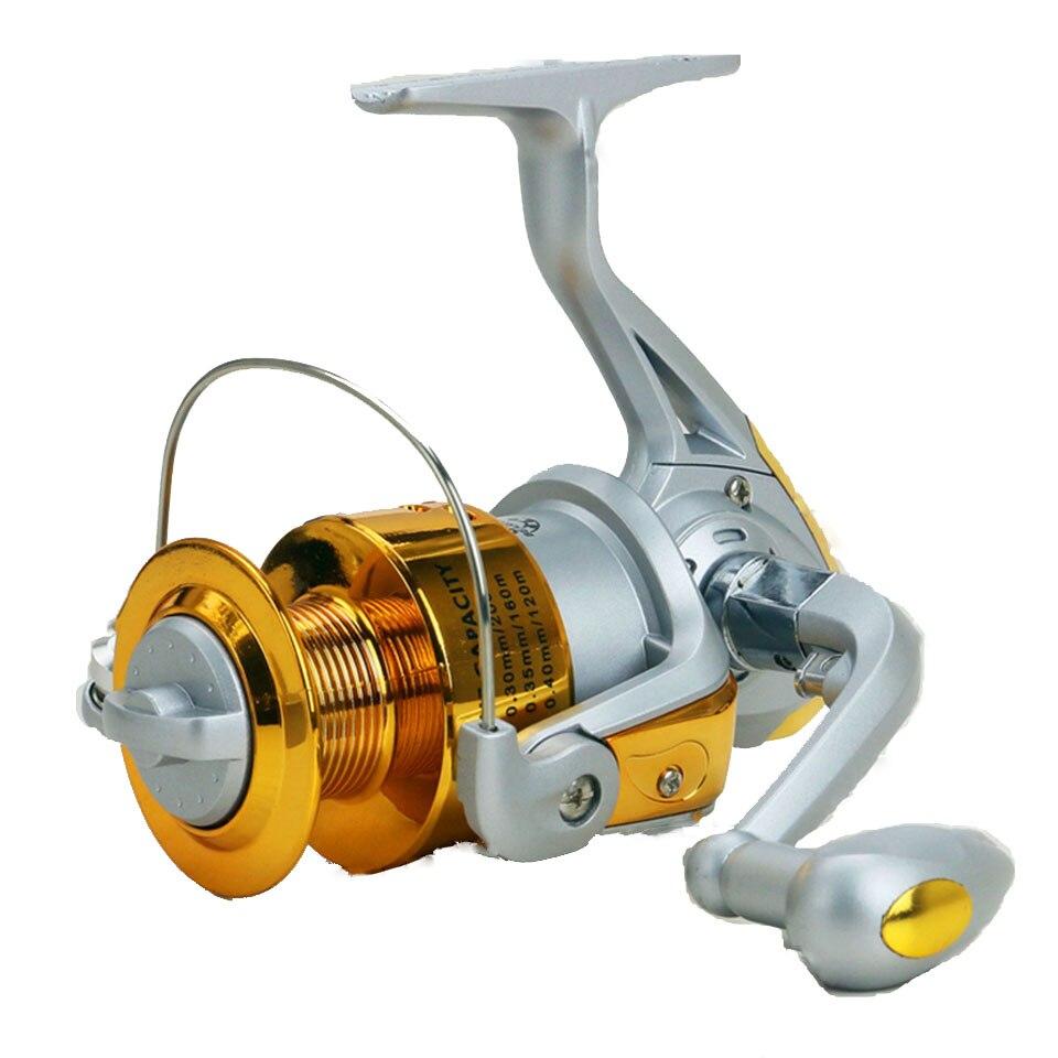 Spinning Carbon Fiber Drag Ultimate Ultra Light Freshwater Fishing Reel 1000-7000 Series Spin Plastic+Metal rocker arm