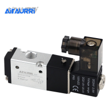 3V110-06 12V 1/8 Solenoid Valve 3 Way Pneumatic Air Solenoid Control Valve Alumium Body made in china pneumatic solenoid valve sy3220 4lz m5
