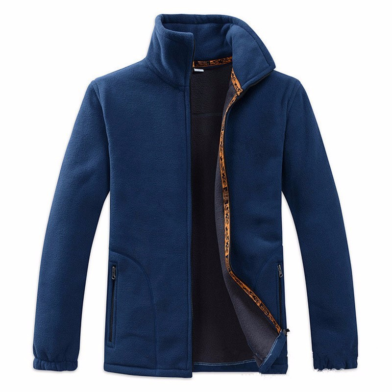 2018 new Arrival Thicken Men Jacket Coat Warm Polar Fleece Fabric Jackets Casual Plue Size 4XL Outwear Necessary Brand Clothing