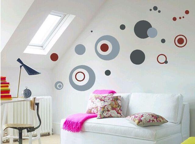 creative dcoration sticker mural pour salon home decor pour meubles tagre placard armoire adhsif amovible vinyle - Decoration Stickers Muraux Adhesif