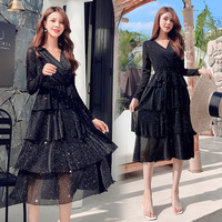 b3cfce89ce6e6 ZYLLGF Robe Petite Fille D'honneur Mariage Ball Gown Girls Dresses For  Party And Wedding Long Sleeve Pageant Dress Girl FP30