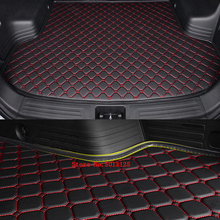 For Skoda Kodiaq 2017 2018 2019 Accessories Car Trunk Mat Boot Liner Tray Rear Cargo Protective Stylings