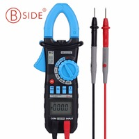 BSIDE ACM03 Auto Range Digital Clamp Meter 400A AC DC Current 600V Resistance Capacitance Frequency Hz Tester with Backlight