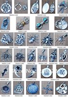 MW-19 Toptan Nepal El Yapımı 925 Gümüş Vintage Charms, Tibet Budist Muska Kolye, 20 adet lot, Ücretsiz gemi