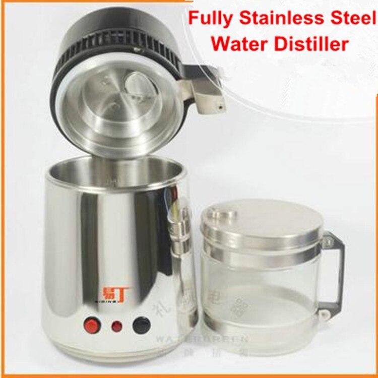 Stainless Steel Water Distiller ~ Water distiller pure v purifier filter w