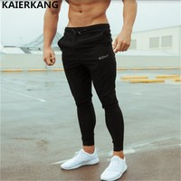 2017 Printed Pants New High Quality Jogger Pants Men Bodybuilding Pants For Runners Clothing Autumn Sweat
