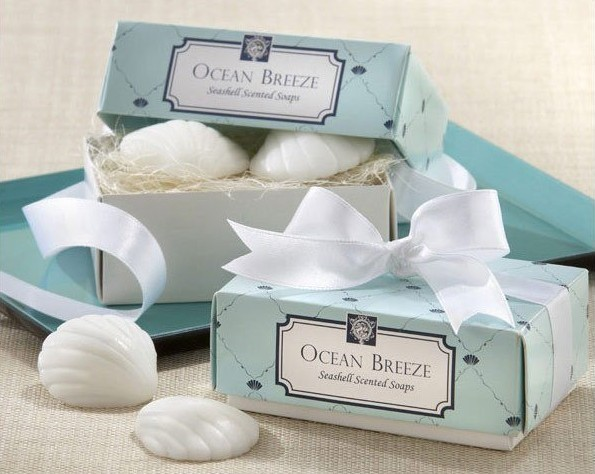 Free Shipping Wedding Favor Seashell Scented Soap Gift Wedding Soap Favors  Ocean Breeze Baby Shower Soap Favor 100pc/lot
