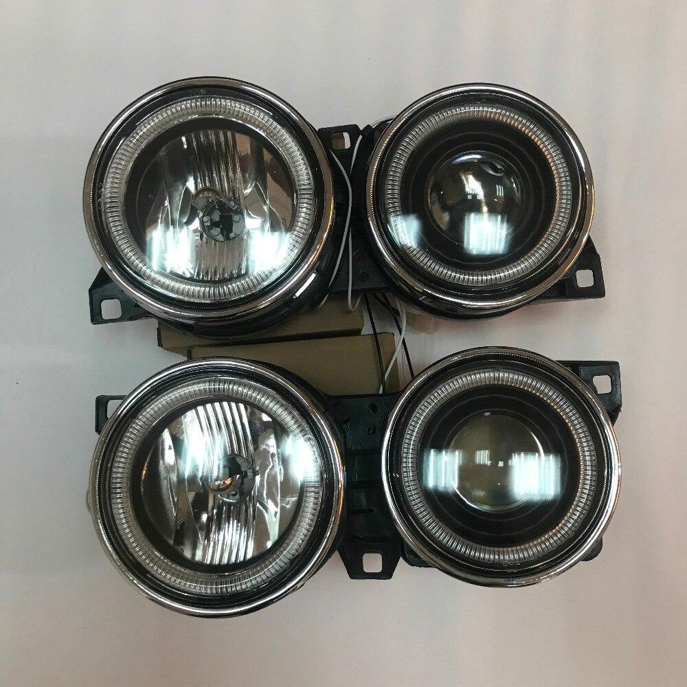 Pour BMW E30 E-30 1984-1991 3 séries Angel Eyes Halo projecteurs phares noir DEPO