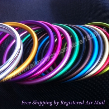 Free Shipping 50pcs/25pairs Large Size 3 inch Multiple Colors Available Aluminum Sling Rings DIY Baby Wrap Carrier