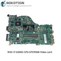 NOKOTION DAZAAMB16E0 N9GFXWW001 N9GFXWW0016 для acer aspire E5 575G Материнская плата ноутбука SR2EZ I7 6500U cpu GTX950M видеокарта