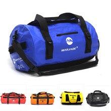 Im freien Schwimmen Wasserdichte Tasche Angeln Dry Bag Camping Fitness Segeln Wasserdicht Tasche Trekking Fluss Schulter Ozean Pack