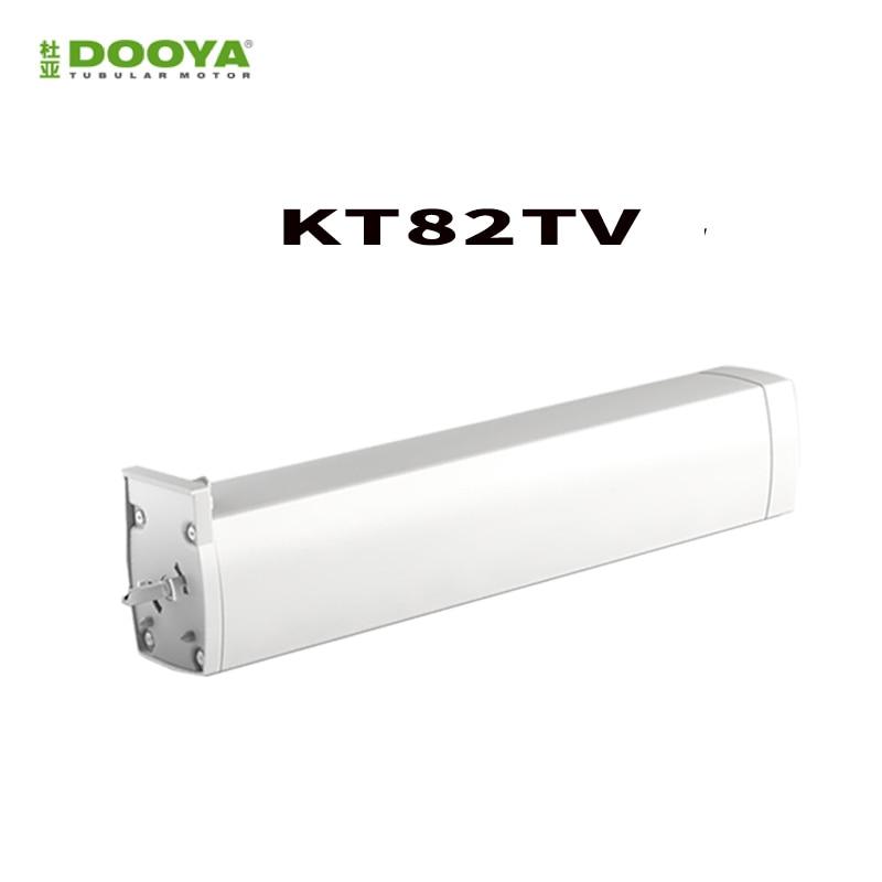 DOOYA Sunflower DC motor KT82TV 110-240V Silent motorized curtain track, smart home motorized curtain,