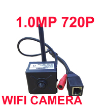 1.0MP 720 IP camera 3.6mm Lens H.264 P2P Mini wireless internet camera Cctv Security IP internet camera wifi camera baby monitor
