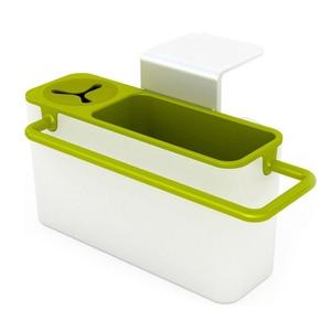 Image 4 - Полезная кухонная коробка для хранения губка держатель для слива мыла полка органайзер корзина инструменты для мытья кухонные аксессуары Organizador