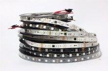 DC12V WS2811 led strip 5m 30/48/60 leds/m,IP30/65/67,10/16/20 pcs ws2811 ic/meter, Black PCB, 2811 led strip Addressable Digital