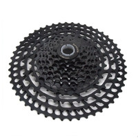 Mountain bike black flywheel 11 speed 11-50 teeth CNC full hollow 365g card  change gear