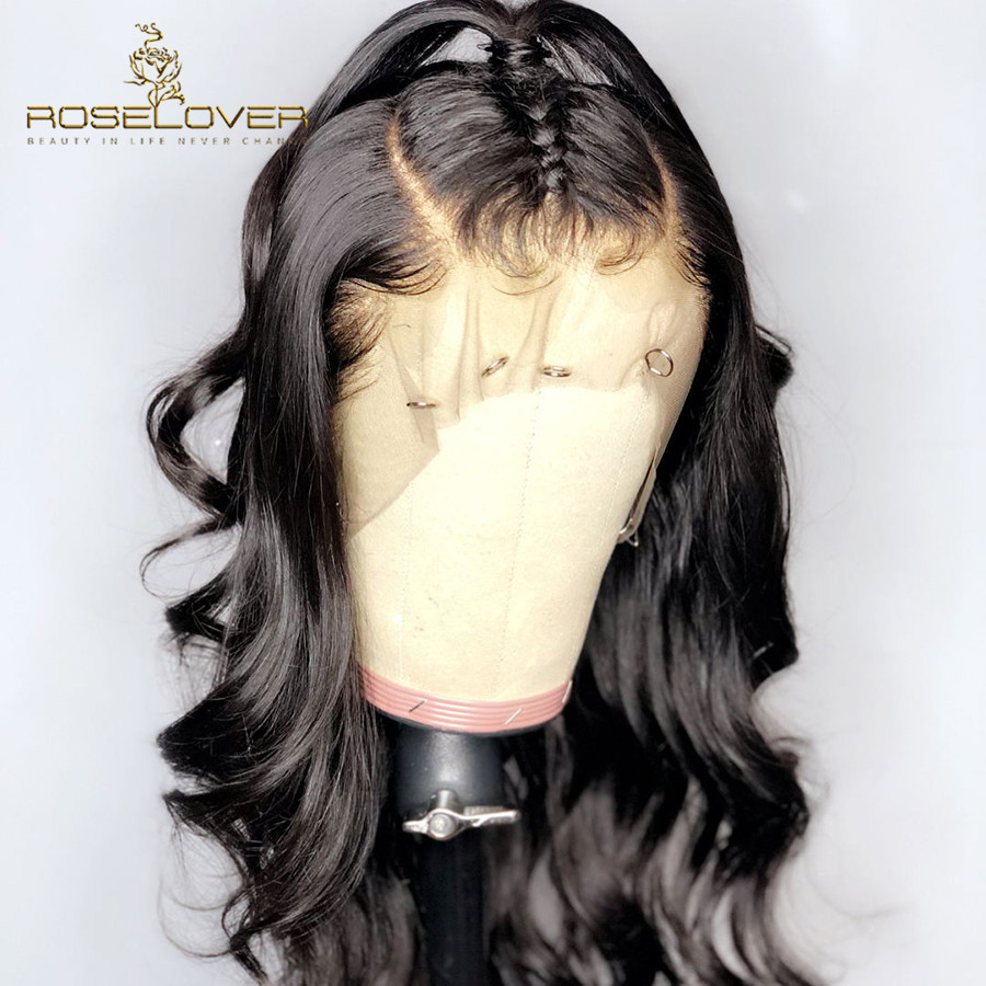 13 6 Lace Frontal Human Hair Wigs Deep Part Body Wave Brazilian Hair Lace Front Wig
