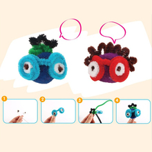 100pcs Montessori Materials Chenille Children Plush Educational Toy Crafts Colorful Pipe Cleaner Toys Handmade DIY Craft